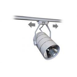 Lampa szynowa LED 30W BIAŁA jednofazowa ciepła Wyposażenie pomieszczeń