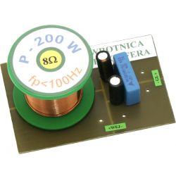 Zwrotnica głośnika subwoofera 200W 8ohm  5931 Sprzęt audio dla domu