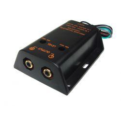 ADAPTER WYJŚCIE NA WZMACNIACZ 2XRCA KONWERTER 3268 Sprzęt car audio