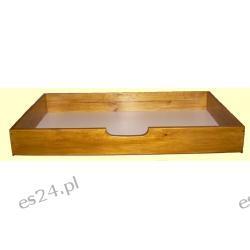 Szuflada pod łóżko z drewna