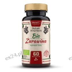BIO ŻURAWINA  60 kapsułek Preparaty witaminowo-mineralne