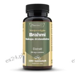 BRAHMI 4:1 200 MG 180 tabletek Pozostałe