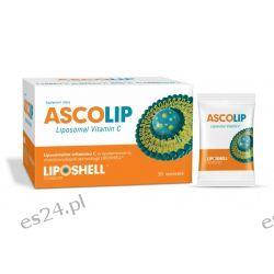 Liposomalna witamina C 30 saszetek ASCOLIP Suplementy diety