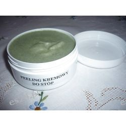 Kremowy peeling do stóp naturalny  Kosmetyki pielęgnacyjne