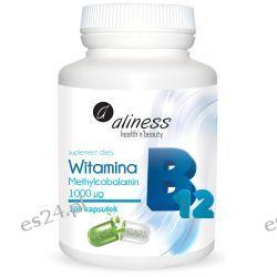 Witamina B12 Methylcobalamin 1000µg x 100 kapsułek Zdrowie, medycyna