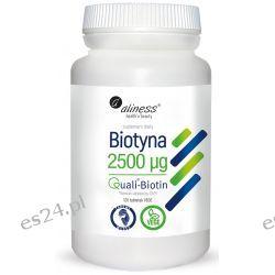 Biotyna 2500 mcg QualiBiotin® x 120 tabletek VEGE Preparaty witaminowo-mineralne