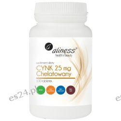 Cynk chelatowany 25 mg x 100 tabletek Kremy i maści
