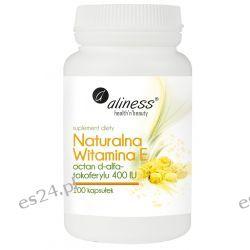Naturalna Witamina E, 100 kapsułek Zdrowie, medycyna