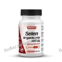 SELEN ORGANICZNY 300UG 60 kapsułek Preparaty witaminowo-mineralne