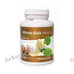 Morwa biała z cynamonem i chromem 500 mg 180 tabletek Odporność