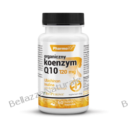 ORGANICZNY KOENZYM Q10 120 MG 60 kapsułek Preparaty witaminowo-mineralne