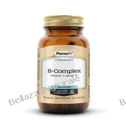 B-COMPLEX 60 KAPS PREMIUM PHARMOVIT® Zdrowie, medycyna