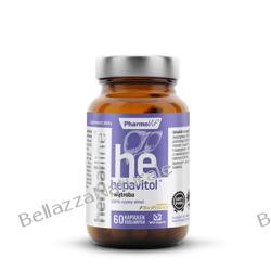 HEPAVITOL™ WĄTROBA 60 KAPS HERBALLINE™ Zdrowie, medycyna
