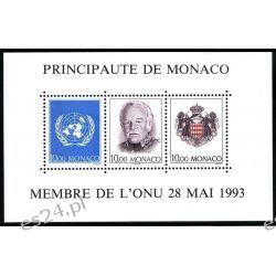 Monako 1993 Mi BL 60A ** Czesław Słania Polonika Rainer Ssaki