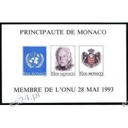 Monako 1993 Mi BL 60B ** Czesław Słania Polonika Rainer Pozostałe