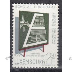 Luksemburg 1963 Mi 666 ** Europa Cept Szkoła  Pozostałe