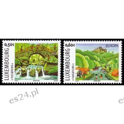 Luksemburg 2004 Mi 1640-41 ** Europa Cept Natura Pozostałe