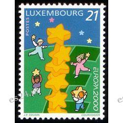 Luksemburg 2000 Mi 1506 ** Europa Cept Dzieci  Marynistyka