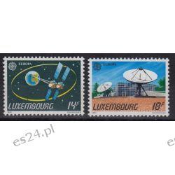 Luksemburg 1991 Mi 1271-72 ** Europa Cept Kosmos Motoryzacja