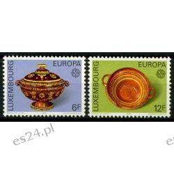 Luksemburg 1976 Mi 928-29 ** Europa Cept Folklor Marynistyka