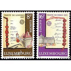 Luksemburg 1982 M 1052-53 ** Europa Cept Dokumenty  Pozostałe