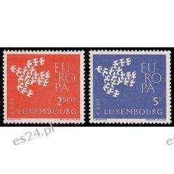Luksemburg 1961 Mi 647-48 ** Europa Cept Gołąb Polonica