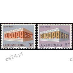 Luksemburg 1969 Mi 788-89 ** Europa Cept  Marynistyka