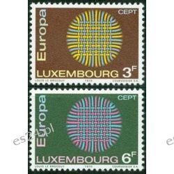 Luksemburg 1970 Mi 807-08 ** Europa Cept Pozostałe