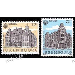 Luksemburg 1990 Mi 1243-44 ** Europa Cept Poczta  Pozostałe