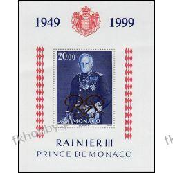Monako 1999 Mi BL 77 ** Czesław Słania Rainer III  Pozostałe