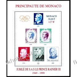Monako 1999 Mi BL 78 ** Czesław Słania Rainer III  Sport