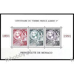 Monako 1991 Mi BL 51 ** Czesław Słania Albert I Kosmos