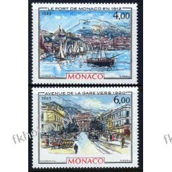 Monako 1985 Mi 1713-14 ** Czesław Słania Statek Pozostałe