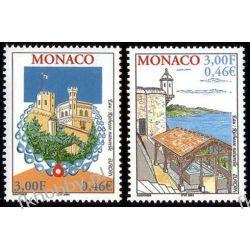 Monako 2001 Mi 2550-51 ** Europa Cept Pałac  Sport