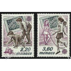 Monako 1989 Mi 1919-20 ** Europa Cept Dzieci  Pozostałe