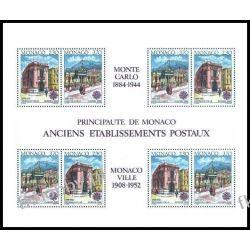 Monako 1990 Mi BL 47 ** Europa Cept Poczta  Pozostałe