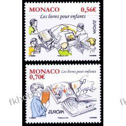 Monako 2010 Mi 2995-96 ** Europa Cept Dzieci Mapa  Druk wklęsły