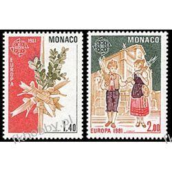 Monako 1981 Mi 1473-74 ** Europa Cept Folklor  Pozostałe