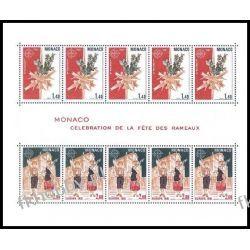 Monako 1981 Mi BL 17 ** Europa Cept Folklor Polonica