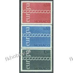 Monako 1971 Mi 1014-16 ** Europa Cept Polonica