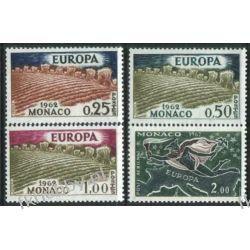 Monako 1962 Mi 695-98 ** Europa Cept Merkury Pozostałe