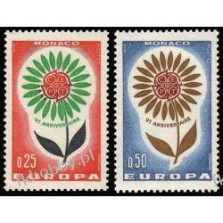 Monako 1964 Mi 782-83 ** Europa Cept Kwiaty Pozostałe
