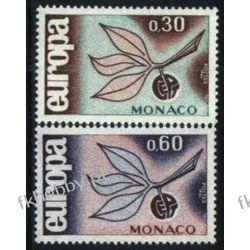 Monako 1965 Mi 810-11 ** Europa Cept Flora Owoce Sport