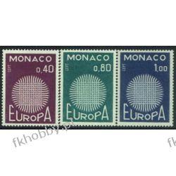 Monako 1970 Mi 977-79 ** Europa Cept Pozostałe