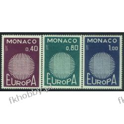 Monako 1970 Mi 977-79 ** Europa Cept Marynistyka