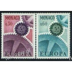 Monako 1967 Mi 870-71 ** Europa Cept Sport