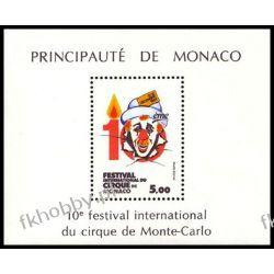 Monako 1984 Mi BL 27 ** Cyrk Monte Carlo Kosmos