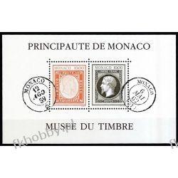 Monako 1992 Mi BL 56 ** Znaczek na Znaczku Polonica