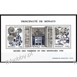 Monako 1996 Mi BL 70 ** Monety Pieniądze Znaczki