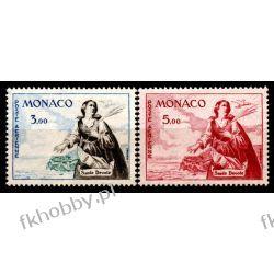 Monako 1961 Mi 671-72 ** Święta Dewota  Polonica